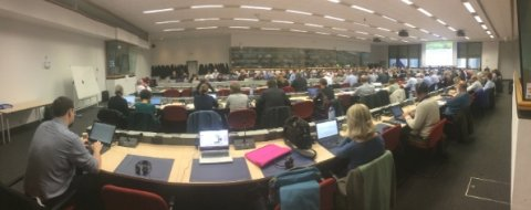 Delegates attend a high-level meeting on Greening the Future CAP, 25/2/2019