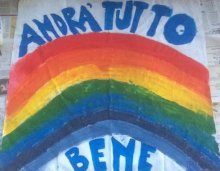 """Andrà tutto bene"" by Pietro, four years old"